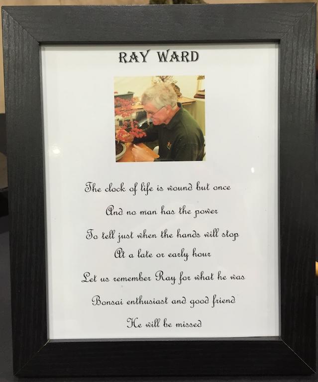 Ray Ward tribute