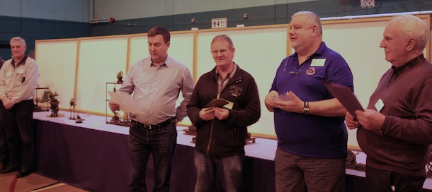 Tony Tickle announced the winners of each award