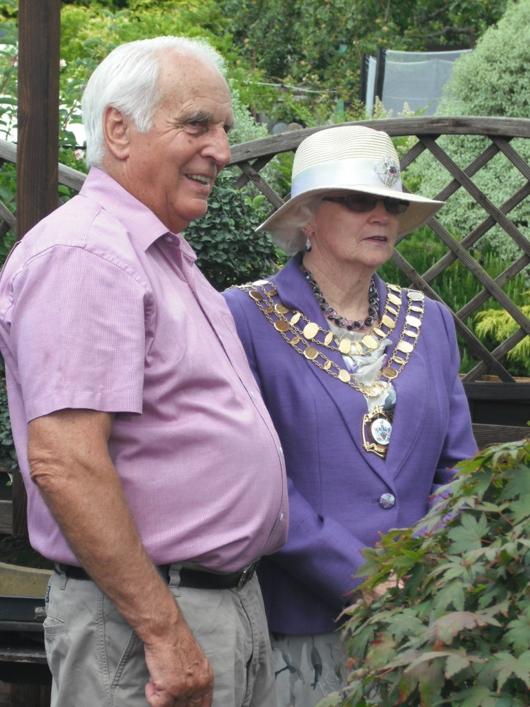 Reg & the Swindon Mayor