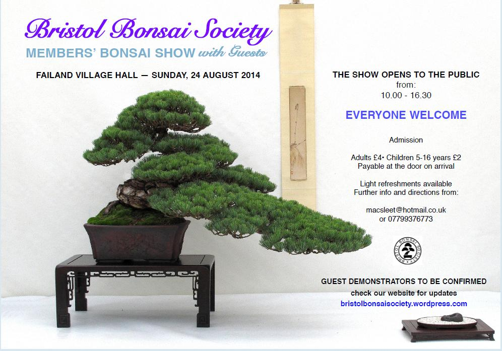Bristol Bonsai Society Show 2014