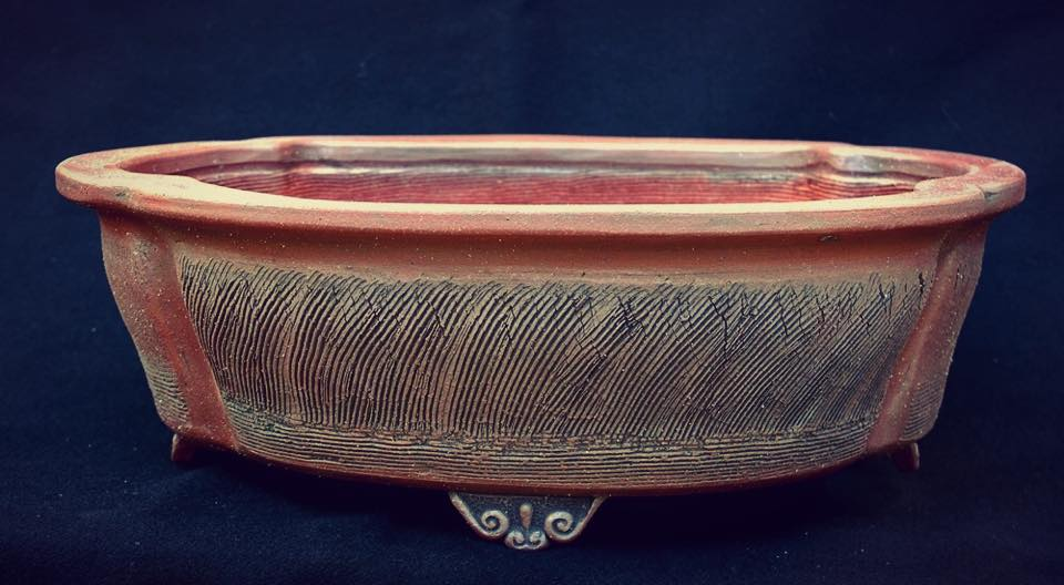 Raffle prize from Andrew Pearson of Stone Monkey Ceramics (size is 30 x 24 x 8cm internal measurements)